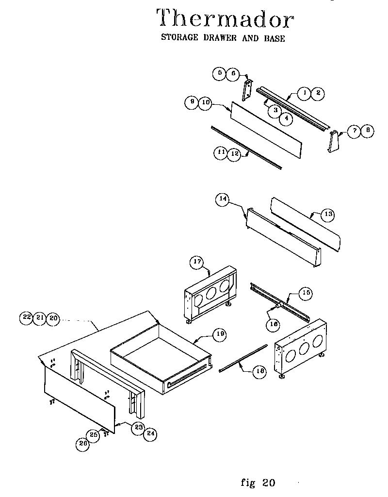 medium resolution of ref30qw freestanding electric range storage drawer and base parts diagram