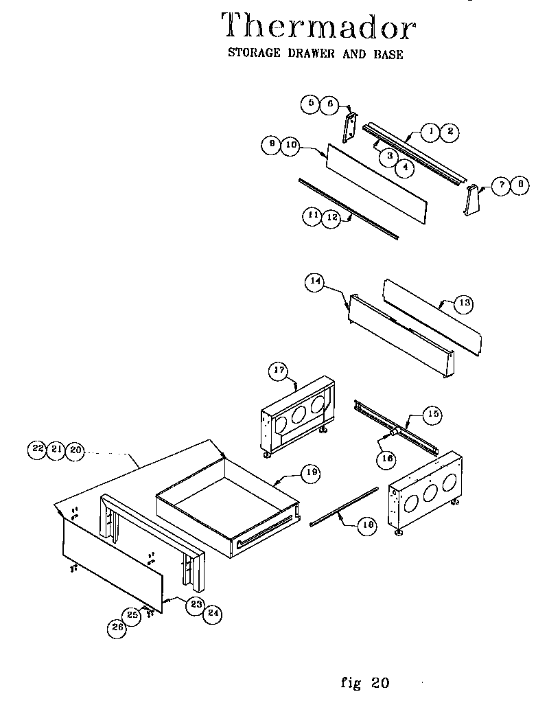 hight resolution of ref30qw freestanding electric range storage drawer and base parts diagram