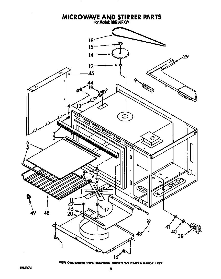 Whirlpool Microwave Schematic Diagram. Whirlpool Wiring