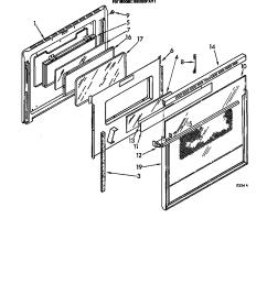 rm288pxv electric built in oven with microwave oven door parts diagram [ 864 x 1093 Pixel ]