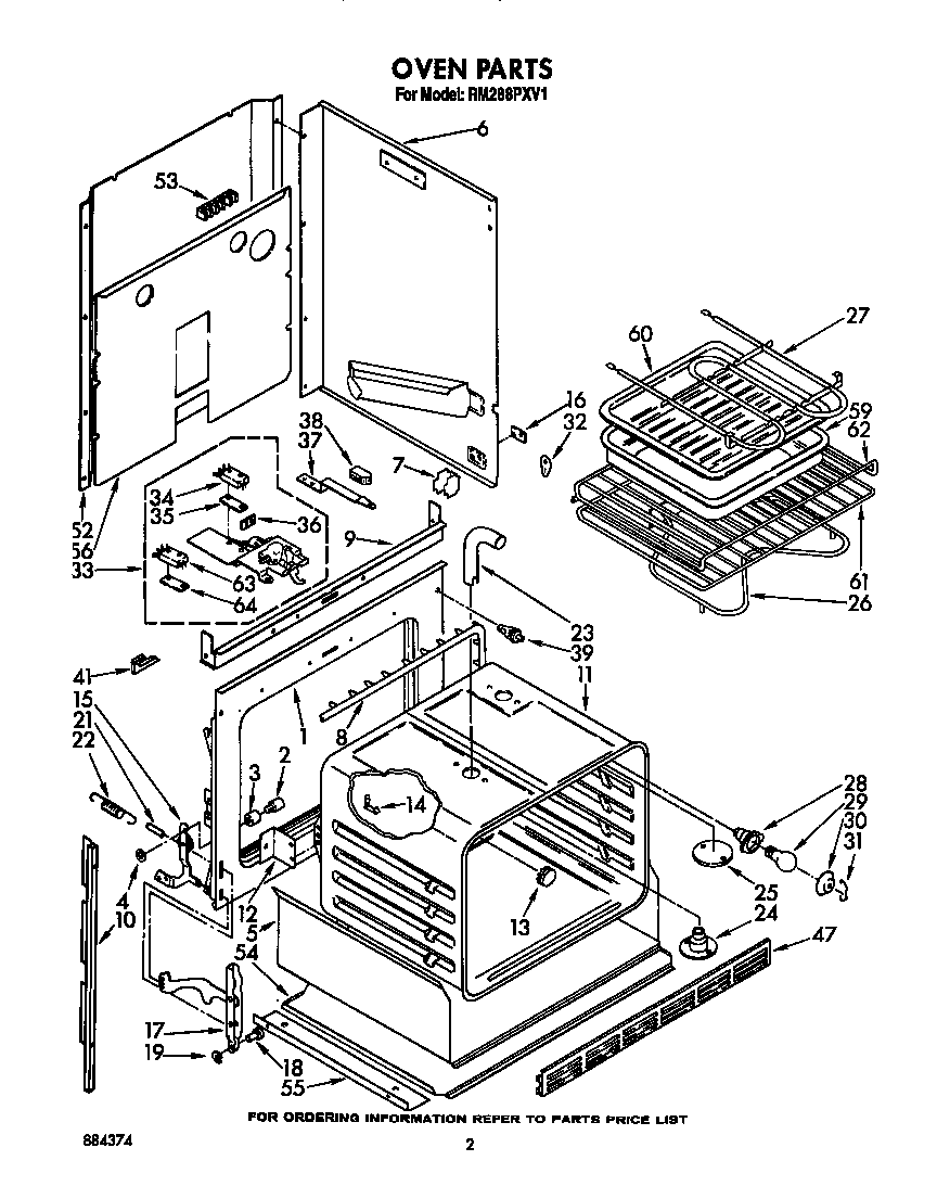 medium resolution of rm288pxv electric built in oven with microwave oven parts diagram