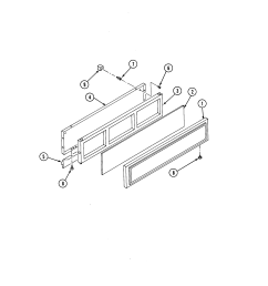 s136 range access panel parts diagram [ 2520 x 3300 Pixel ]