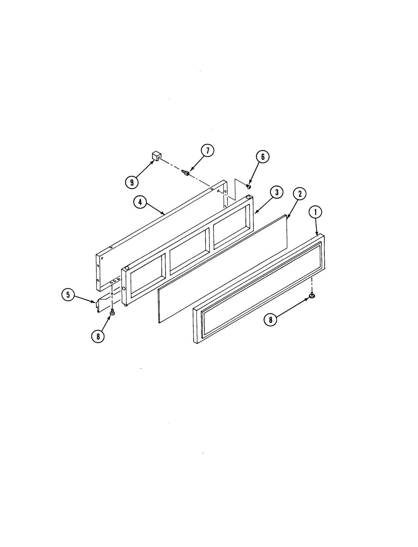 medium resolution of s136 range access panel parts diagram