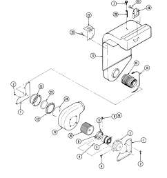 s136 range blower motor parts diagram [ 2520 x 3300 Pixel ]