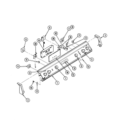 s136 range control panel parts diagram [ 2520 x 3300 Pixel ]