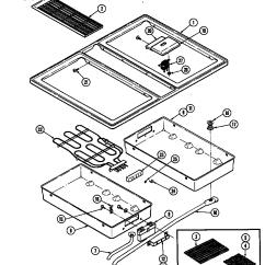 Jenn Air Refrigerator Parts Diagram Dayton Electric Motors Wiring Range Library S176 Slide In Top Grill Pan
