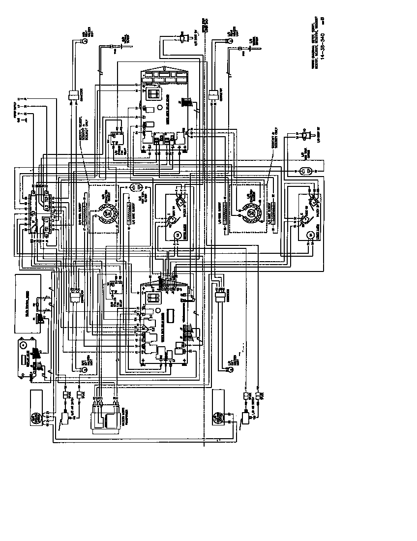 bosch built in oven wiring diagram