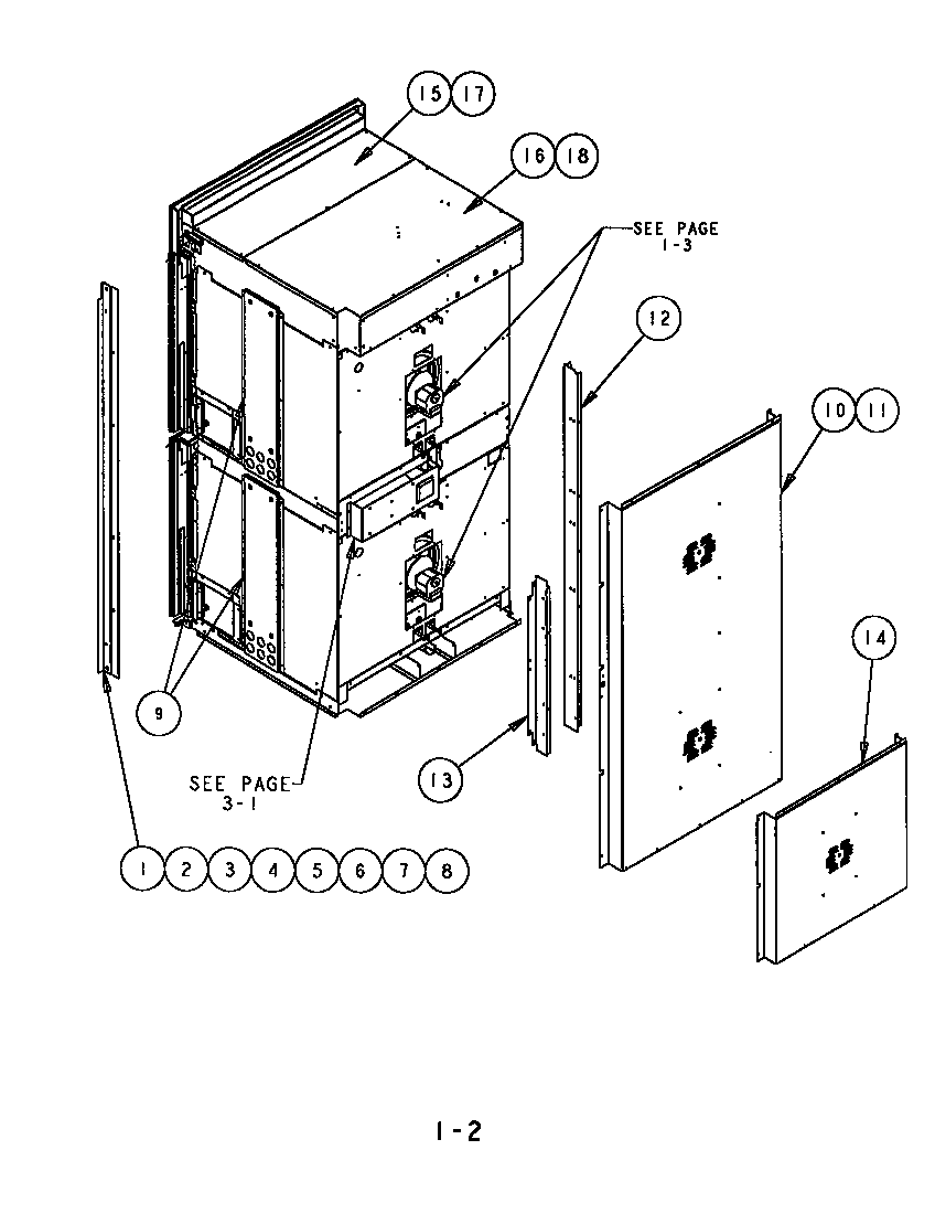 hight resolution of sc302 built in electric oven back side and trim parts diagram