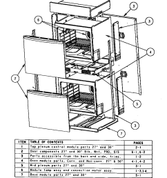 sc302 built in electric oven oven assembly parts diagram [ 848 x 1093 Pixel ]