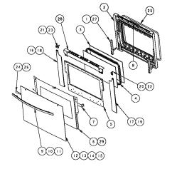 oven door schematic wiring diagram sortthermador scd302 built in electric oven timer stove clocks and oven [ 832 x 1100 Pixel ]