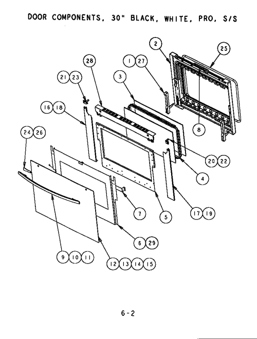 small resolution of oven door schematic wiring diagram sortthermador scd302 built in electric oven timer stove clocks and oven