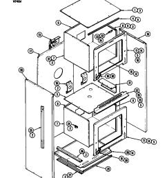 w246 electric wall oven basic body w246w parts diagram [ 848 x 1100 Pixel ]