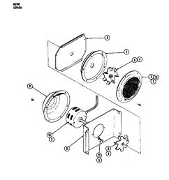 w246 electric wall oven blower motor convection fan w246w parts diagram [ 848 x 1100 Pixel ]