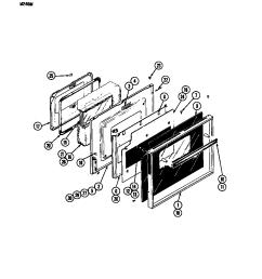 w246 electric wall oven door w246w parts diagram [ 848 x 1100 Pixel ]