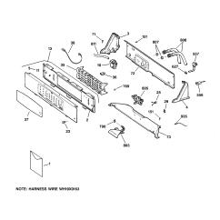 Ge Top Load Washer Wiring Diagram Sail Terminology General Electric Wnsb8060b0ww Timer Stove Clocks