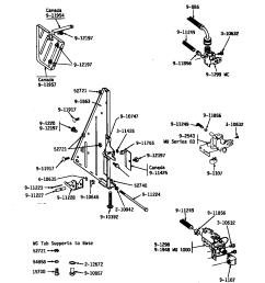 wu482 dishwasher tub support left frame water valves parts diagram [ 848 x 1100 Pixel ]