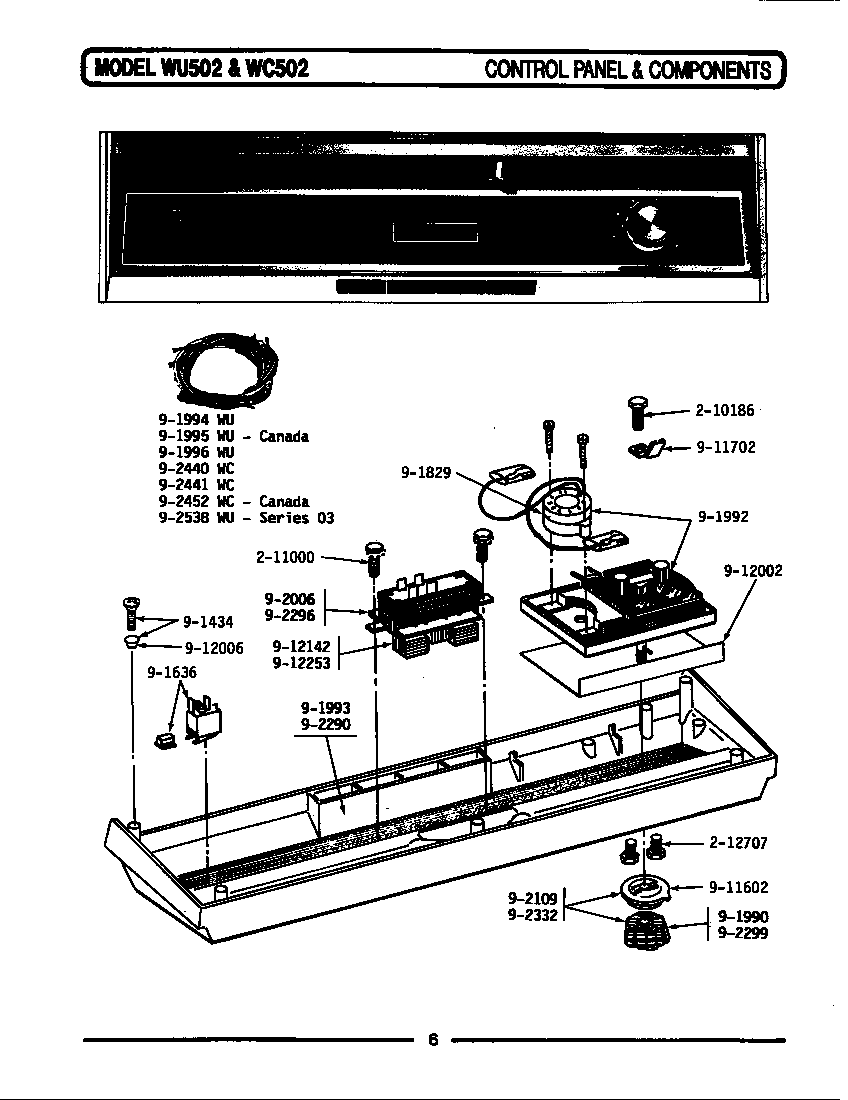 maytag appliance lde512 control panel