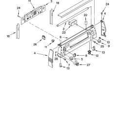 ykerc507hw0 free standing electric range control panel parts diagram [ 3348 x 4623 Pixel ]