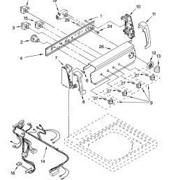 110258424 automatic washer control panel parts diagram [ 3348 x 4623 Pixel ]