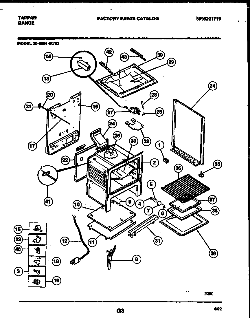 hight resolution of 3039910003 range gas body parts diagram