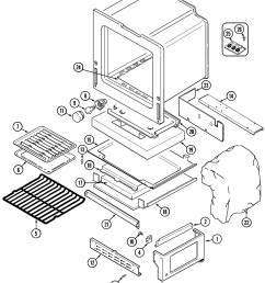 6498vta gas range oven base parts diagram [ 2225 x 2712 Pixel ]