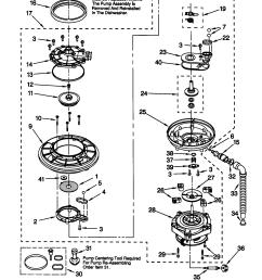 66515982990 dishwasher pump and motor parts diagram kenmore 66515982990  [ 1648 x 2338 Pixel ]
