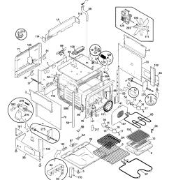 79046802992 elite electric slide in range body parts diagram kenmore 79046802992  [ 1696 x 2200 Pixel ]