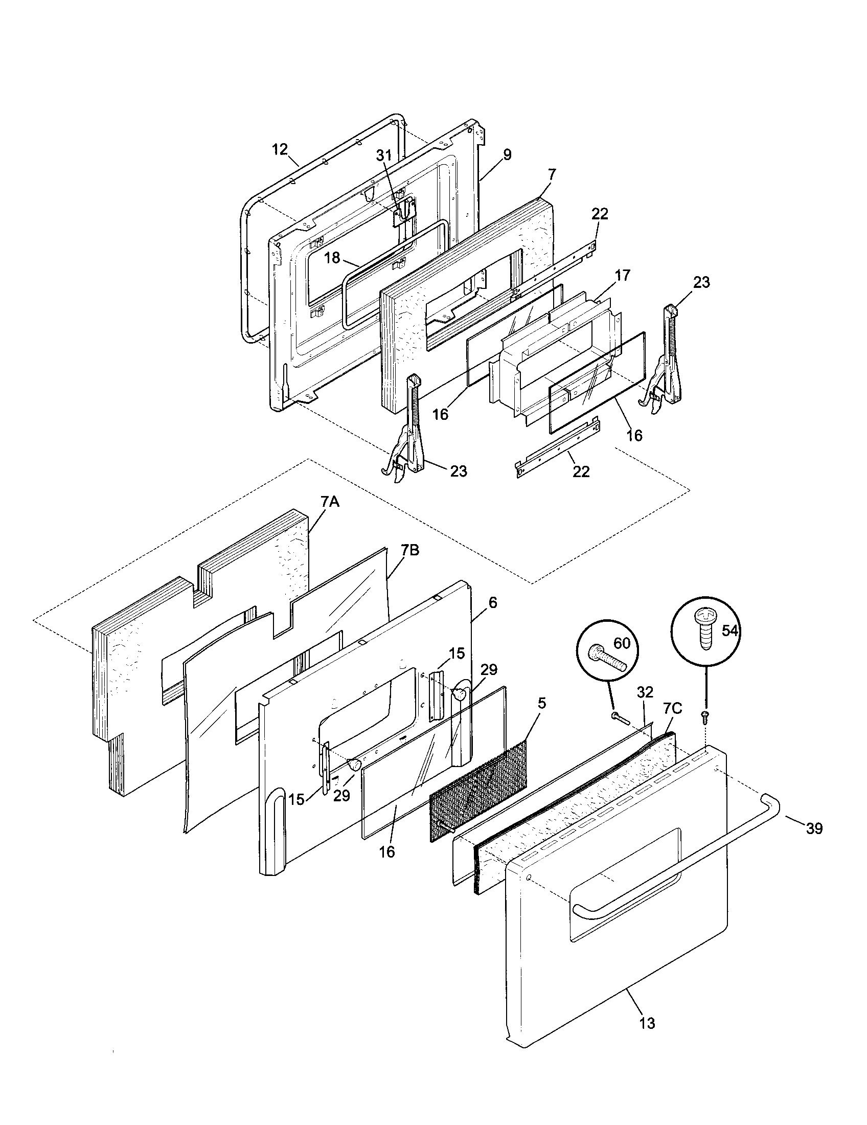 Kenmore Dual Fuel Range Timer