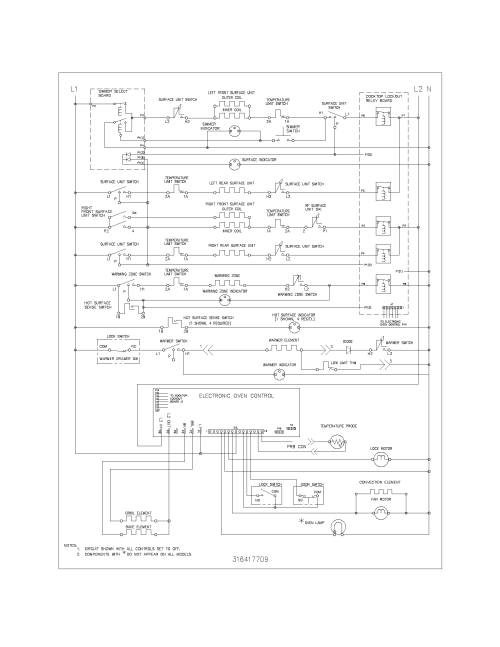 small resolution of 79096612400 electric range wiring schematic parts diagram