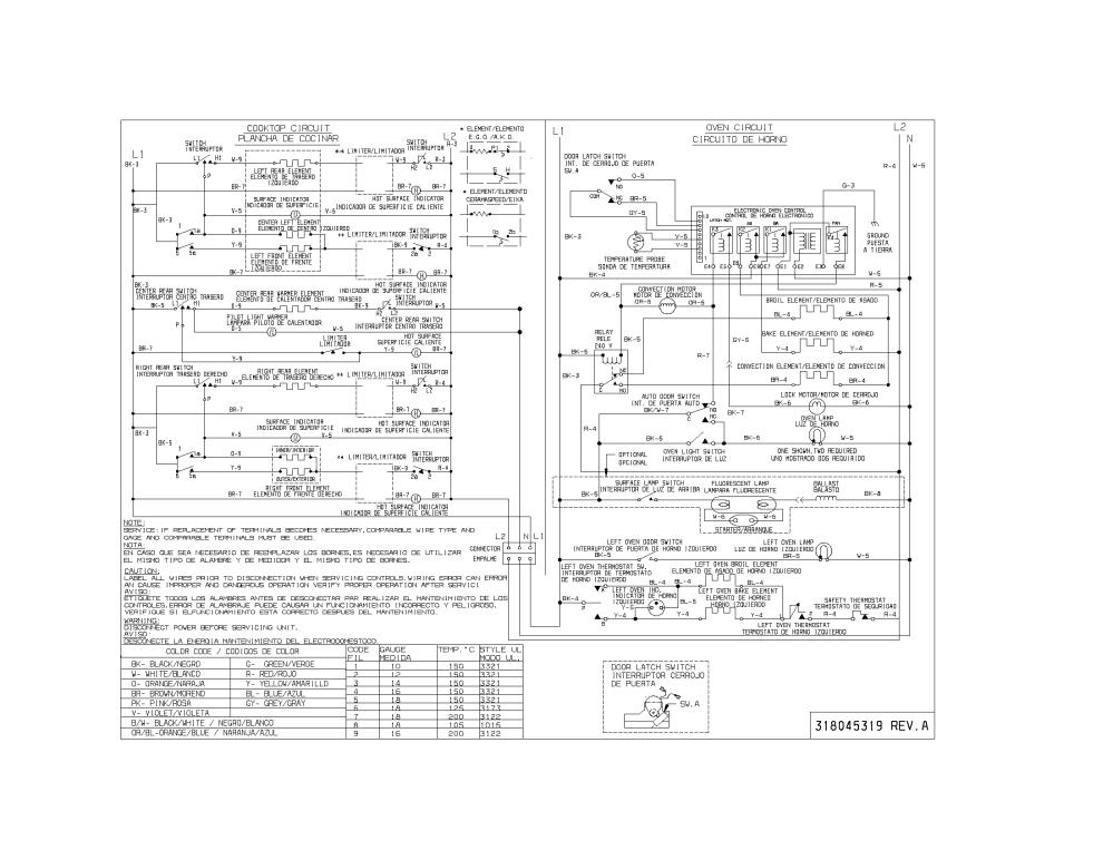 medium resolution of 79099503993 elite electric range wiring diagram parts diagram