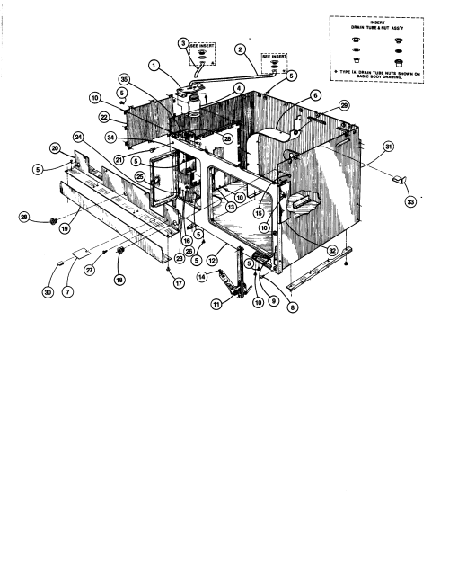 small resolution of 88370 range basic body parts diagram oven parts diagram