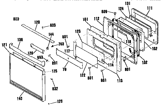 Wiring Diagram: 30 Kenmore Oven Parts Diagram
