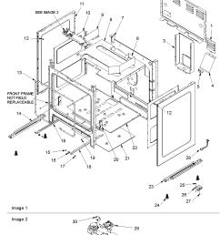 acf3325aw gas range cabinet parts diagram [ 1063 x 1375 Pixel ]