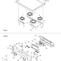 Amana Fridge Wiring Diagram Bass Tracker Acf4225aw Electric Range Timer Stove Clocks And