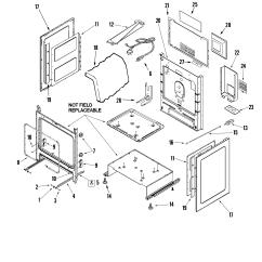 Cabinet Door Diagram Sanyo Tv Schematic Amana Agr5835qdq Freestanding Gas Range Timer Stove