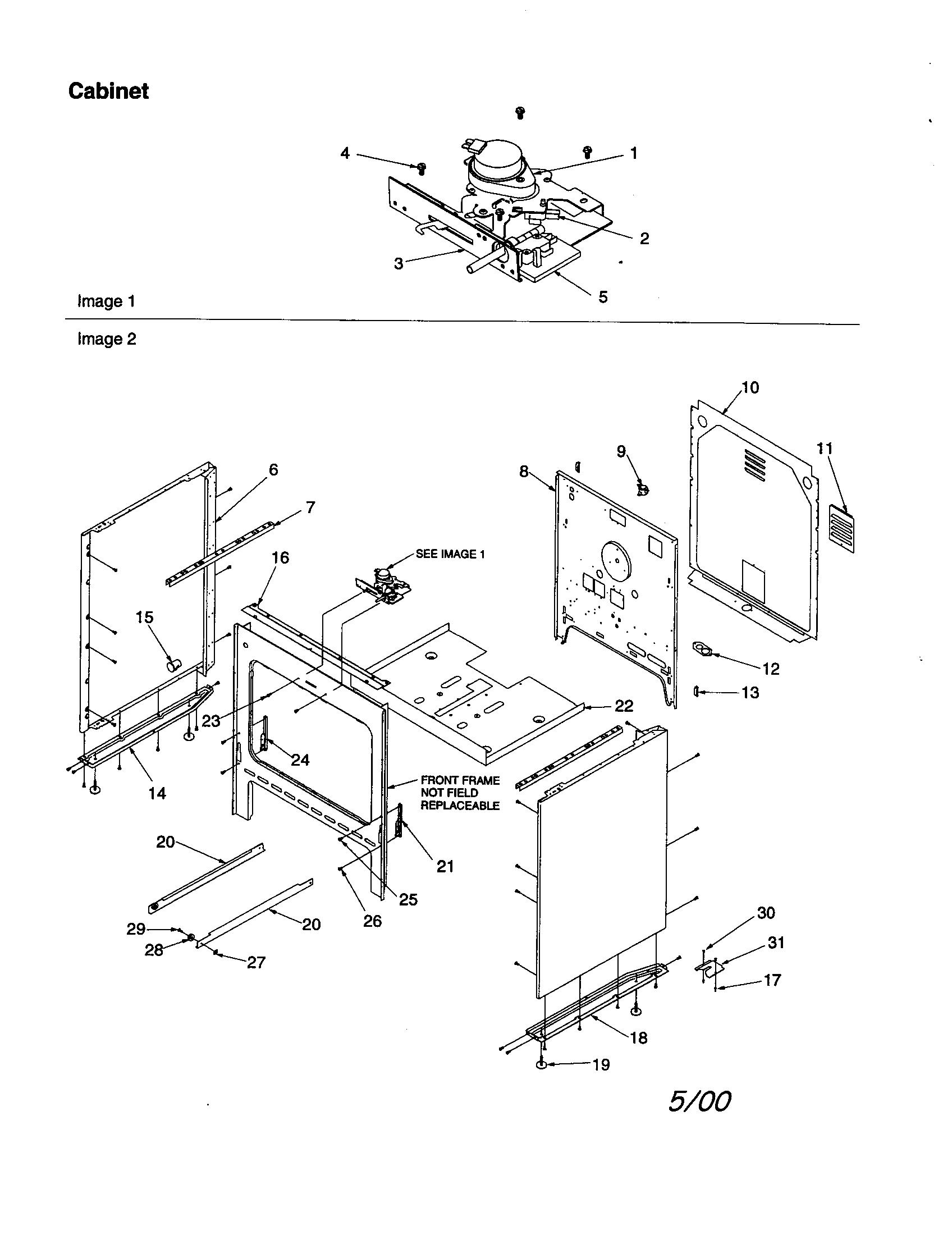 cabinet door diagram 2002 jeep liberty engine amana art6511ll timer clock erc stove clocks and