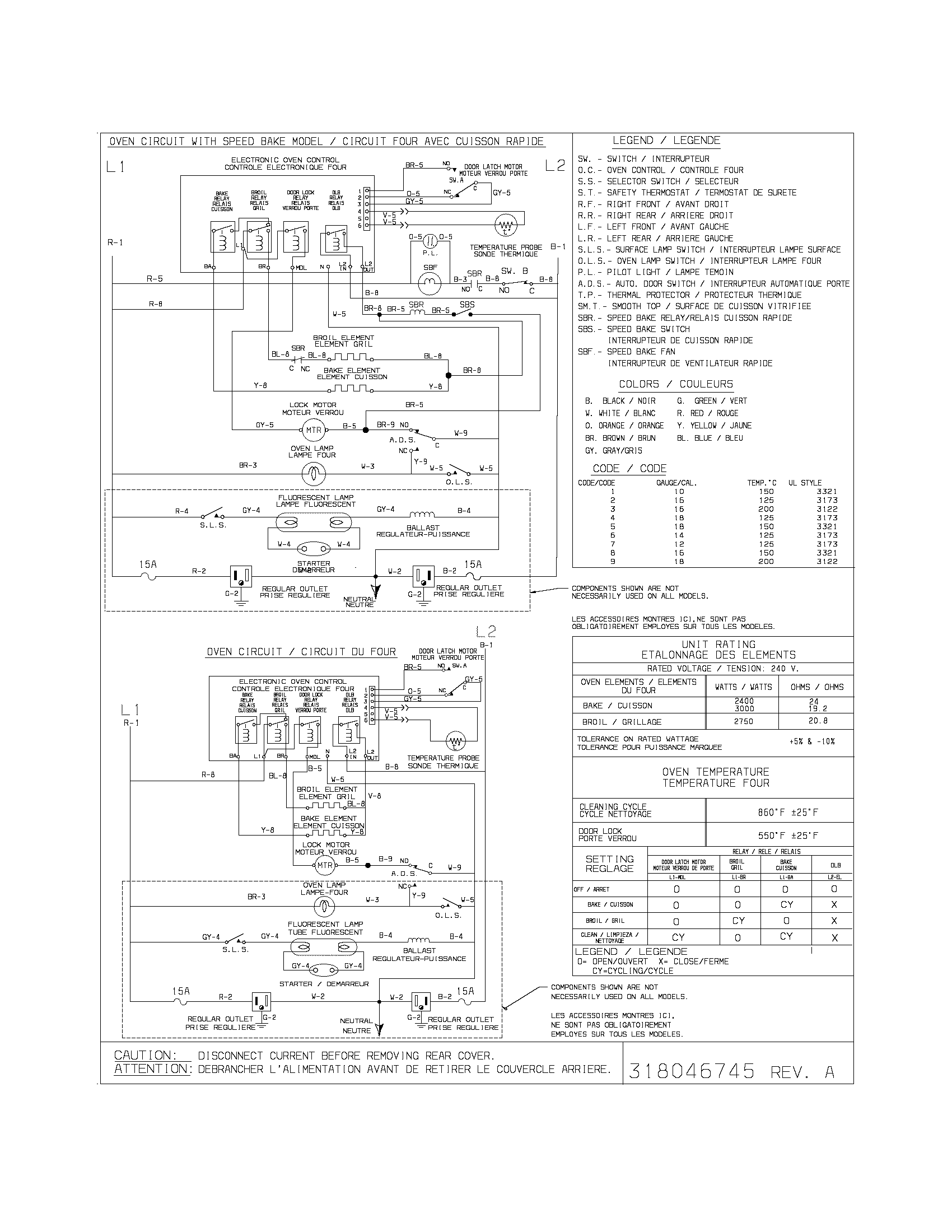 schematic diagram of computer components 120 240 wiring frigidaire cfef372bc3 electric range timer stove clocks