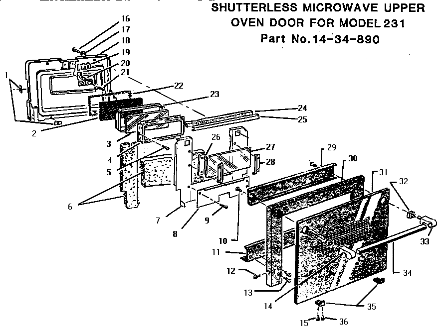 Thermador Microwave Parts