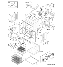 cpeb30s8cc2 wall oven body parts diagram [ 1700 x 2200 Pixel ]