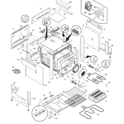 Ge Dishwasher Schematic Diagram Ceiling Fan Circuit Frigidaire Cpes389cc1 Range Timer - Stove Clocks And Appliance Timers