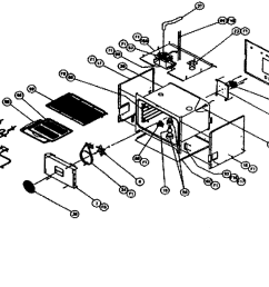 cps130 oven conv oven parts diagram [ 2546 x 1831 Pixel ]