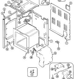 cre9600 range body parts diagram [ 2097 x 2629 Pixel ]