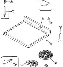 cre9600 range top assembly parts diagram [ 1909 x 2469 Pixel ]