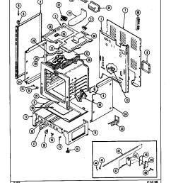 cre9800ace range body parts diagram [ 1136 x 1466 Pixel ]