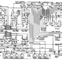 Ge Dishwasher Schematic Diagram Application Structure Maytag Cre9830cde Electric Range Timer - Stove Clocks And Appliance Timers