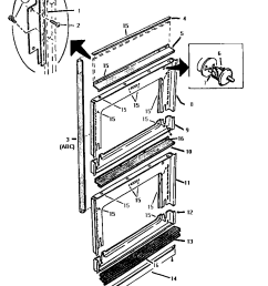ct227n electric wall oven front frame parts diagram [ 800 x 1053 Pixel ]