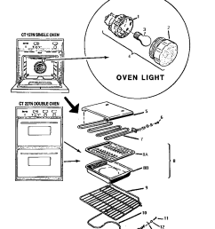 ct227n electric wall oven removable oven parts diagram [ 832 x 1053 Pixel ]