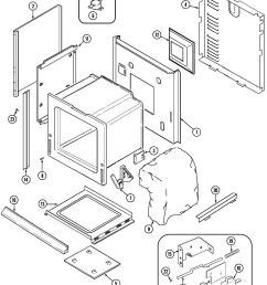 cwe9030bcb range body parts diagram oven parts diagram [ 2250 x 2764 Pixel ]