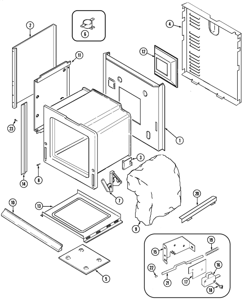 small resolution of cwe9030bcb range body parts diagram oven parts diagram