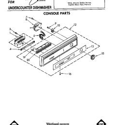 du6000xr1 dishwasher console parts diagram [ 864 x 1100 Pixel ]